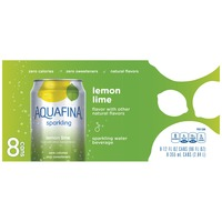 Aquafina Sparkling Lemon Lime Water Beverage