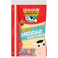 Horizon Organic Cheddar Slices Cheese
