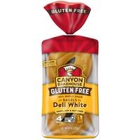 Canyon Bakehouse Gluten Free Deli White Whole Grain Bagels
