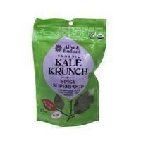 Alive & Radiant Organic Spicy Kale Krunch Super Food