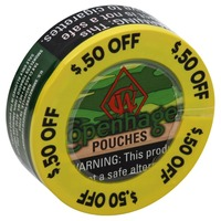 Grizzly Smokeless Tobacco, Snuff pouches (0 82 oz) from