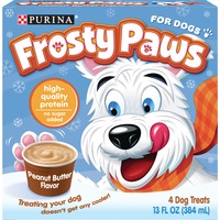 Frosty Paws PURINA FROSTY PAWS Peanut Butter Frozen Treats for Dogs