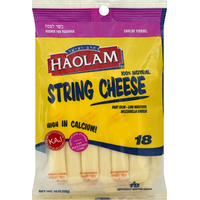 Haolam String Cheese - 18 CT