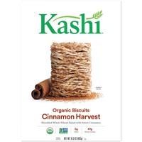 Kashi Organic Cinnamon Harvest Biscuits Cereal