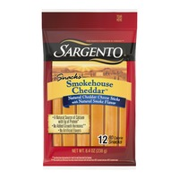 Sargento® Smokehouse Cheddar™ Natural Cheese Snack Sticks