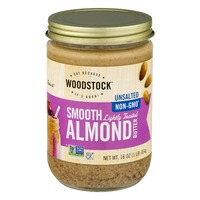 Woodstock Farms Unsalted Smooth Almond Butter
