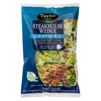 Taylor Farms Steakhouse Wedge Chopped Salad Kit