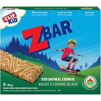 CLIF Kid Iced Oatmeal Cookie Baked Whole Grain Energy Snack