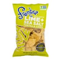 Frontera Small Batch Tortilla Chips Lime + Sea Salt