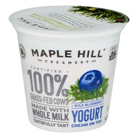 Maple Hill Creamery Yogurt Cream On Top Wild Blueberry