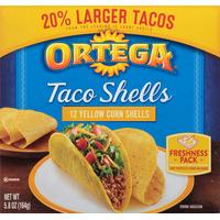 Ortega Yellow Corn Taco Shells