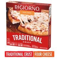 DiGiorno Small Four Cheese Traditional Crust Frozen Pizza