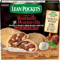 Lean Pockets Meatballs & Mozzarella Frozen Sandwiches