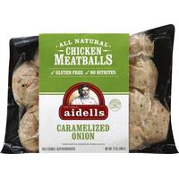 Aidells Chicken Meatballs Caramelized Onion