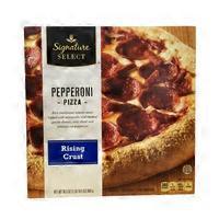 Signature Select Pepperoni Rising Crust Pizza