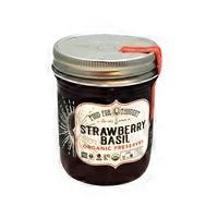 Food For Thought Organic Strawberry Basil Preserves