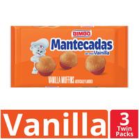 Bimbo Mantecadas Vanilla Muffins