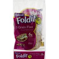 Flatout Foldit 5 Grain Flax Flatbread