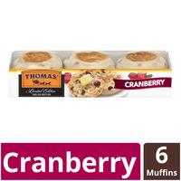 Thomas' Cranberry Limited Edition English Muffins