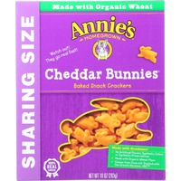 Annie's Homegrown Cheddar Snack Crackers Cheddar Bunnies