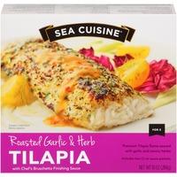 Sea Cuisine Roasted Garlic & Herb with Chef's Bruschetta Finishing Sauce Tilapia