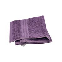 Interiors by Design Feather Touch Plum Washcloth