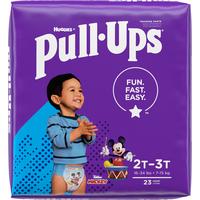 Pull-Ups Boys' Potty Training Pants Size 4, 2T-3T