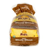 Rudi's Organic Bakery Organic Bakery Bread 100% Whole Wheat