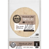 La Tortilla Factory White Corn & Wheat Handmade Style Tortillas