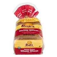 Rudi's Organic Bakery Bread Honey Sweet Whole Wheat