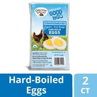 Organic Valley Good to Go Hard Boiled Free Range Organic Eggs