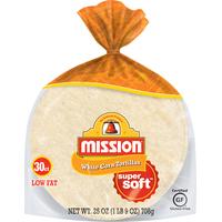 Mission White Corn Soft Tortillas