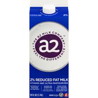 a2 Milk Milk, Reduced Fat, 2%