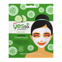 Yes To Soothing Calming Paper Mask Cucumbers