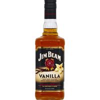 Jim Beam Whiskey, Straight Bourbon, Vanilla