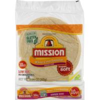 Mission Super Size White Corn Tortillas