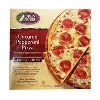 Open Nature Classic Crust Uncured Pepperoni Pizza