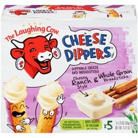 The Laughing Cow Garlic & Herb Whole Grain Breadsticks Cheese Dippers