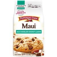 Pepperidge Farm Cookies Maui Milk Chocolate Coconut Almond Crispy Cookies