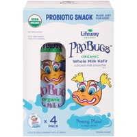 Lifeway Probugs Pretty Plain Whole Milk Kefir Organic