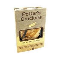 Potter's Crackers Organic Classic White Artisan Crackers