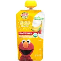 Earth's Best Organic Strawberry Banana Fruit Yogurt Smoothie 4.2 oz