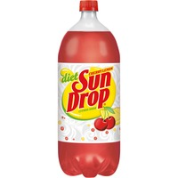 Ruby red squirt soda