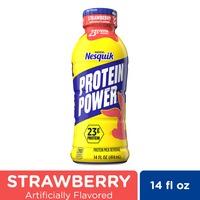 Nestle Nesquik Protein Power Strawberry Protein Milk Drink Ready to Drink