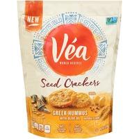 Vea Greek Hummus with Olive Oil Seed Crackers
