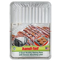 Handi Foil Baking Pans Healthy With Grease Absorbing