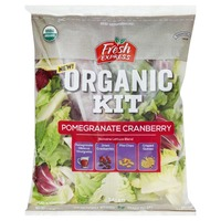 Fresh Express Salad Kit, Organic, Pomegranate Cranberry