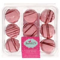 Sweet P's Strawberry Cake Bites