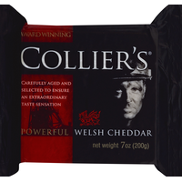 Collier's Cheese, Powerful Welsh Cheddar