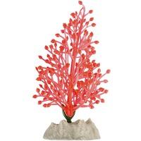 GloFish Plastic Plants Small Fluorescent Orange